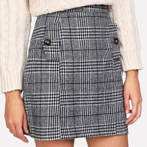 Dresses & Skirts - Wales Check Skirt